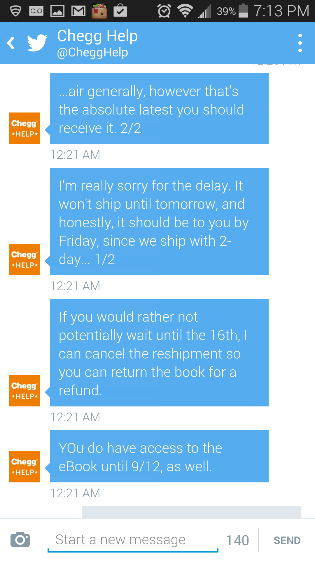 cancel chegg homework help This company is not yet accredited to learn more, see reviews below or submit your own want refund know more about consumeraffairs accredited brands.
