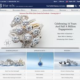 blue nile is a typical business to customer The company understands that a great majority of jewelry shoppers do not have  much  made by well known designers, their alternatives to the classic ring are  particularly pleasing  a review of bluenile's security and customer support.
