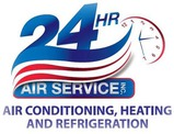 24 Hour Air Service logo