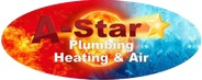 A Star Heat and Air Plumbing logo