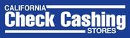 California Check Cashing Stores logo