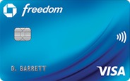 Chase Freedom Credit Card logo