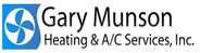 Gary Munson Heating and A/C logo