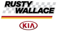 Rusty Wallace Kia logo