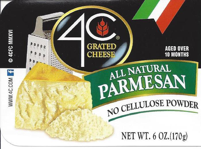 4C Foods Corp. recalls cheese due to salmonella risk
