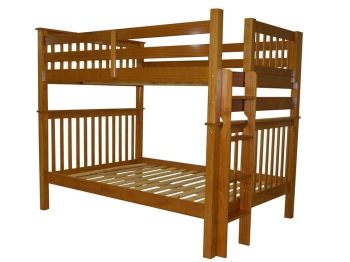 New Bedz King of Arlington Texas is recalling about Bedz King bunk beds with side ladder