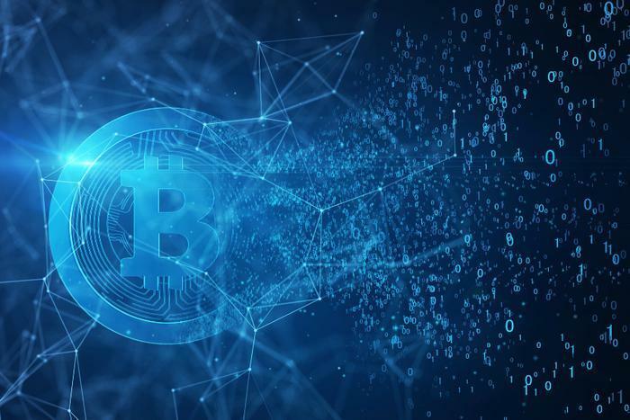 Bitcoin digital concept