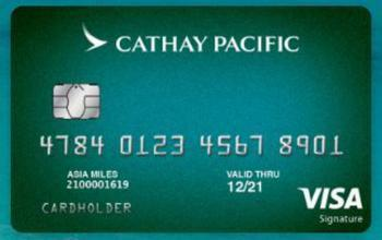 cathay pacific introduces travel rewards card - Travel Rewards Credit Card