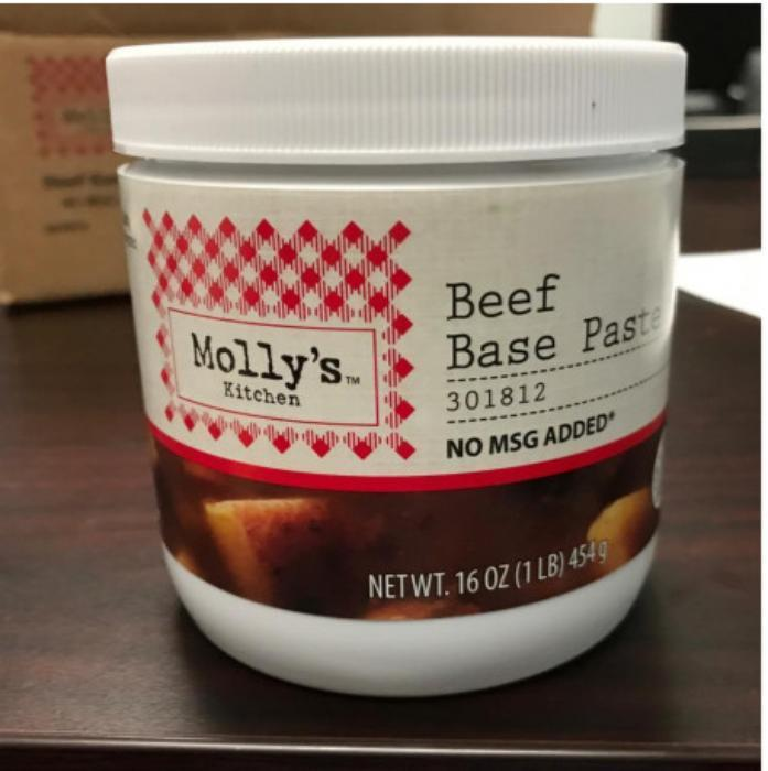 Custom Culinary Recalls Chicken And Beef Base Paste