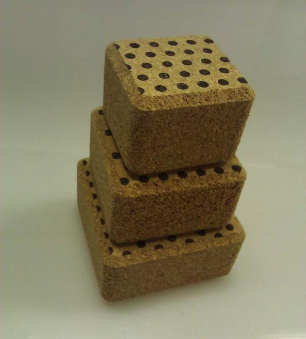 A Harvest Company of Huntley, Ill., is recalling about 720 sets of Cork Stacker block sets.