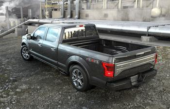 Model year 2013 Ford F-150 pickup trucks recalled