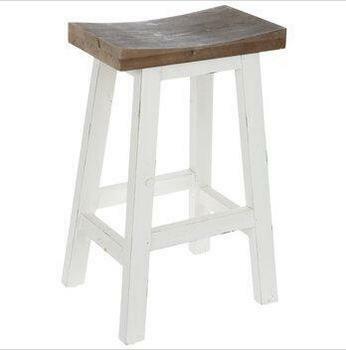 Hobby Lobby white wooden stool