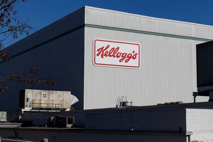 Kellogg's company and building logo