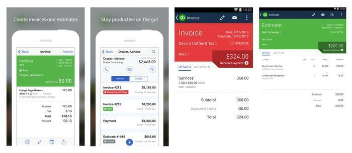Of The Best Mobile Online Billing Software Apps For Business - Ios invoice app