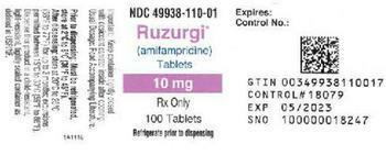 Ruzurgi product label