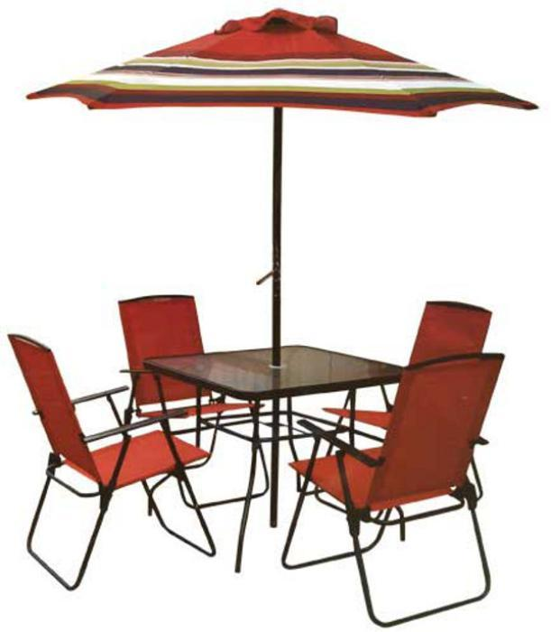 Rite Aid Of Camp Hill, Pa., Is Recalling About 13,000 Outdoor Dining Sets.