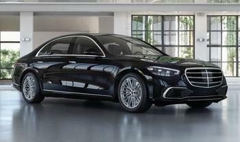 Mercedes-Benz S580s vehicle