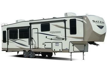 Forest River Salem fifth wheel trailer