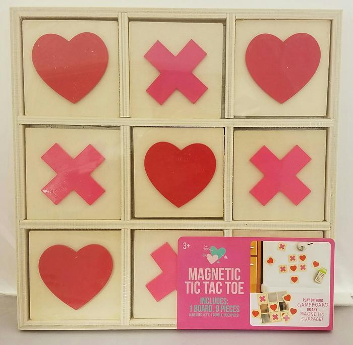 Target Corp., of Minneapolis, Minn., is recalling about 19,000 magnetic tic tac toe games.
