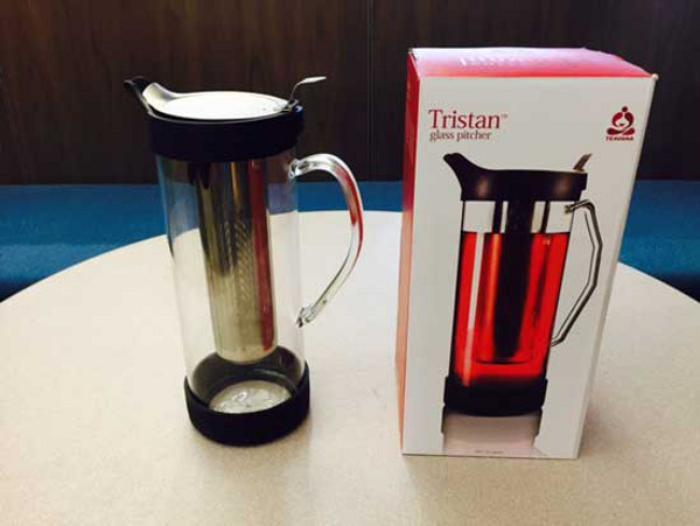 Teavana of Seattle  Wash  is recalling about 56 800 Tristan glass pitchers  in the U S  and Canada Glass Tables and Pyrex Shattering. Martha Stewart Outdoor Patio Furniture Replacement Glass. Home Design Ideas