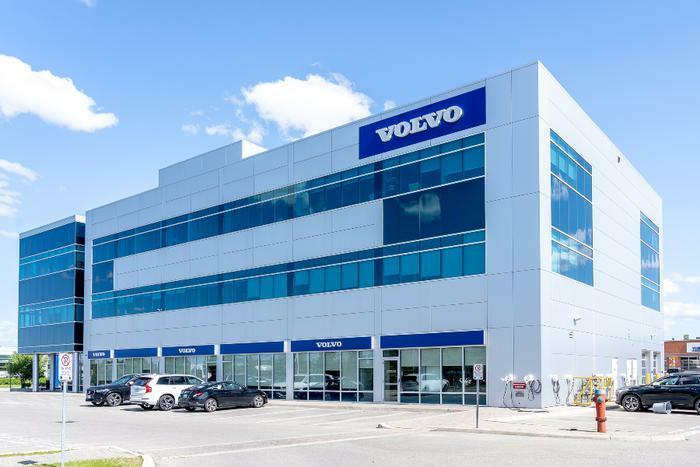 Volvo company building or dealership