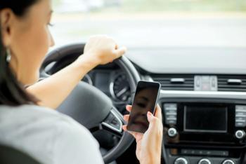 1d3949fb9 Texting has long been considered a threat to the safety of teens who drive,  but another smartphone-related risk has recently come to light.