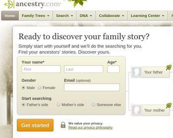 Family history stays a mystery on Ancestry com