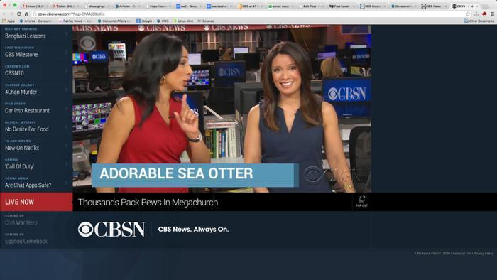 CBS News launches streaming video news channel
