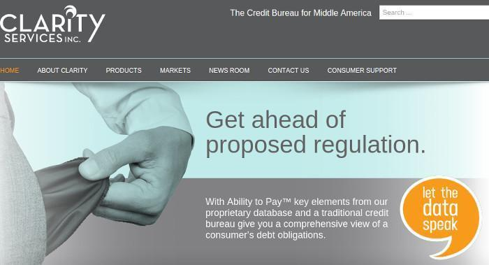 Feds Fine Clarity Services Inc 8 Million For Consumer Credit Violations
