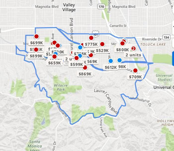 Zillow Value Map Zillow: median home value now over $200,000