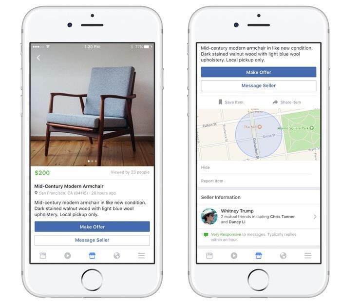 Facebook apologizes for illicit sales on new Marketplace feature