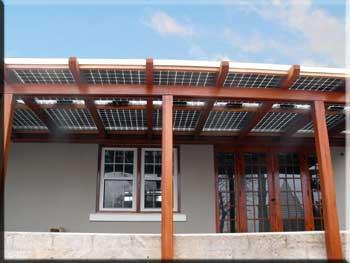 Solar Awnings Provide Shade And A Tax Credit