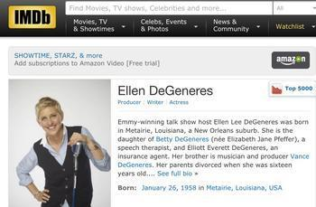 8bd8cb04763 Maybe you occasionally find yourself wondering how old your favorite actor  is. It s pretty easy to find out. A quick visit to IMDb.com will tell you