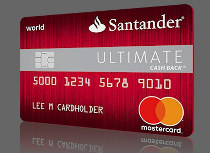Santander introduces new cash back credit card - Cad santander ...