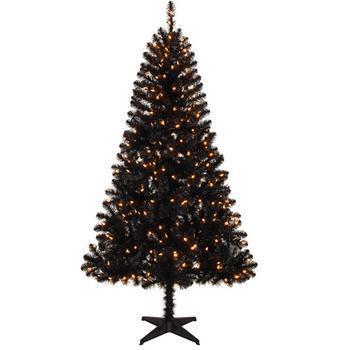 A Walmart Christmas tree
