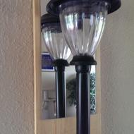 several solar path lights for our peaceful garden indoor lighting. Black Bedroom Furniture Sets. Home Design Ideas