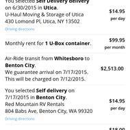 Top 75 Complaints and Reviews about U-Haul Storage