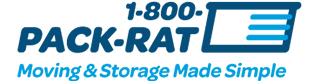 1-800-pack-rat logo logo