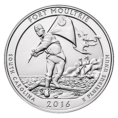 5 oz american the beautiful - moultrie quarter