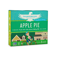 thunderkids apple pie snack bar