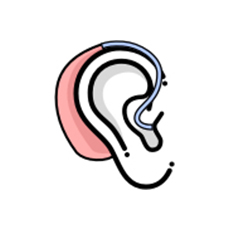 behind-the-ear-hearing aids