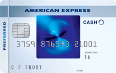 blue cash preferred card
