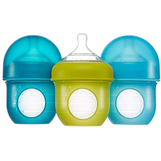 boon nursh reusable silicone pouch bottle
