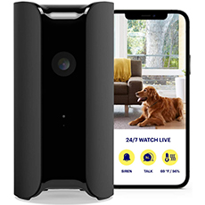 canary pro indoor home security camera