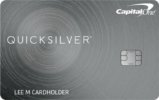 capital one quicksilver cash reward