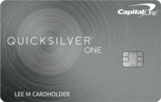 capital one quicksilver one