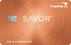 capital one savor rewards credit card