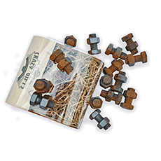 chocolate nuts and bolts