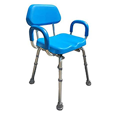 comfortable deluxe shower chair