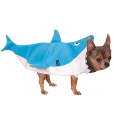 Shark costume for dog